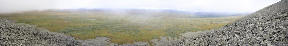 26. Вид с Вогульского камня на долину Рассохи.