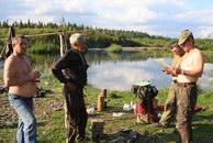 116. Рыбаки в Усть-Тыпыле.