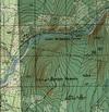 128. Фрагмент карты - Косьва.